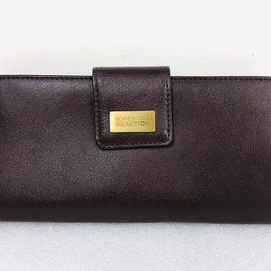Kenneth Cole Reaction Brown Leather Wallet